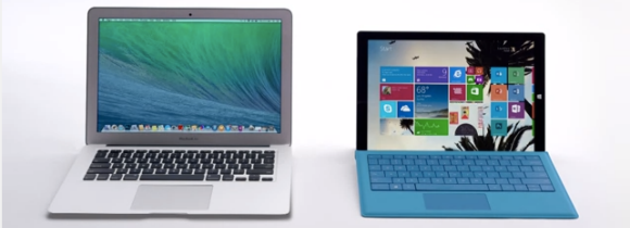 Macbook Air + Surface Pro 3