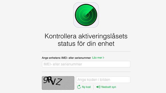 Iphone aktiveringsl�s