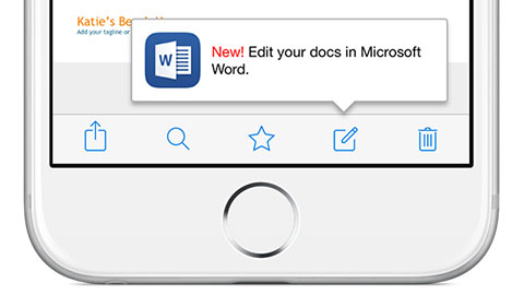 Microsoft sl�pper nya Office-appar f�r Iphone