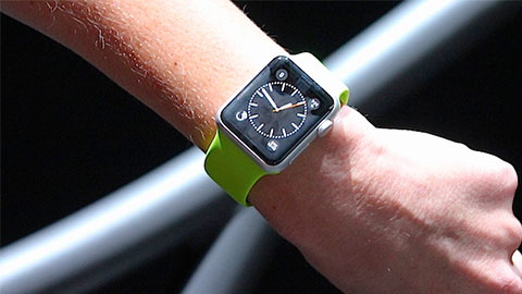 """Apple Watch sl�pps i mars"""