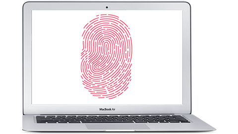 Touch id i Macbook Air