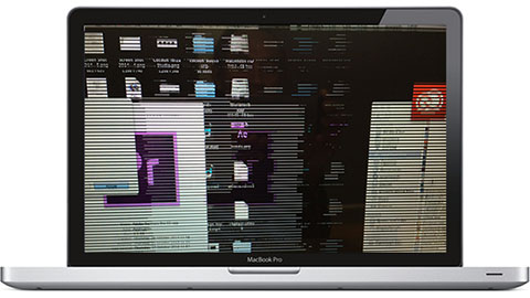 Grafikproblem Macbook Pro