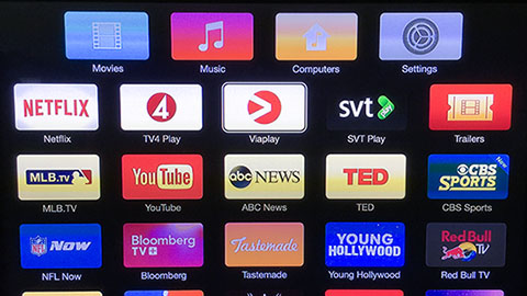 Viaplay på Apple TV
