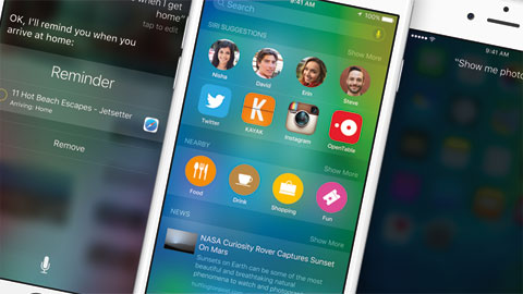 IOS 9 fixar gamla irritationsmoment