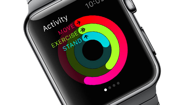 Apple Watch aktivitet