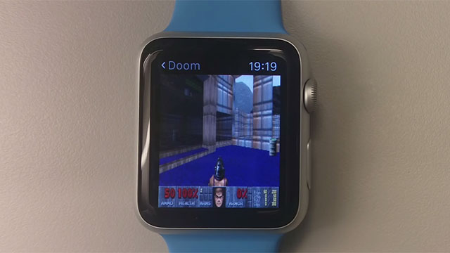 Doom p� Apple Watch