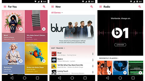 Apple Music för Android