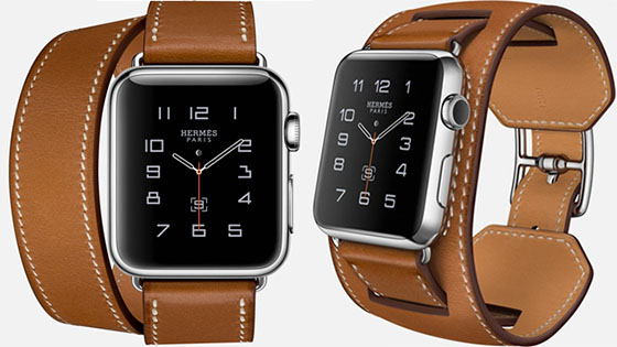 Hermès Apple Watch-armband