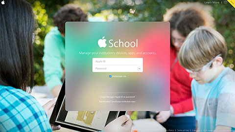 Apples nya skolportal