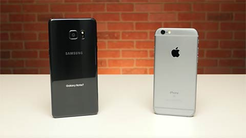 Iphone 6 vs Galaxy Note